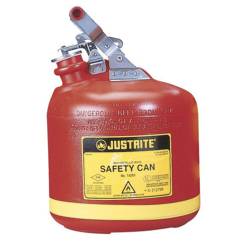 Polyethylene Type I Safety Can for Flammables 9.5ltr - 14261