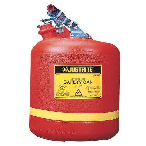 Polyethylene Type I Safety Can for Flammables 19ltr - 14561
