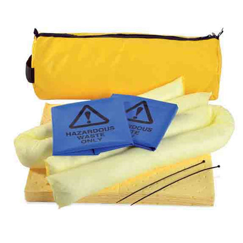 Chemical Spill Kit Yellow Vinyl Holdall 20ltr - 20CHK