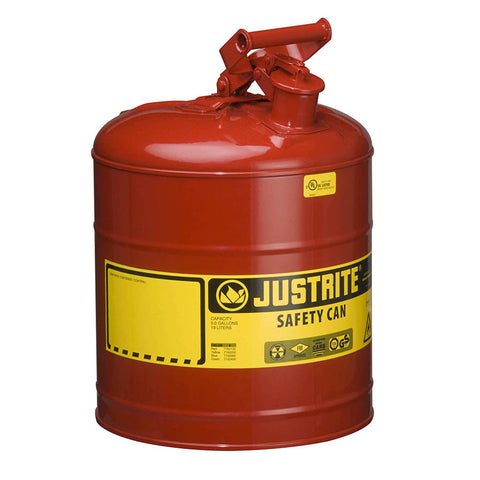 Steel Type I Safety Can for Flammables 19ltr - 7150100Z