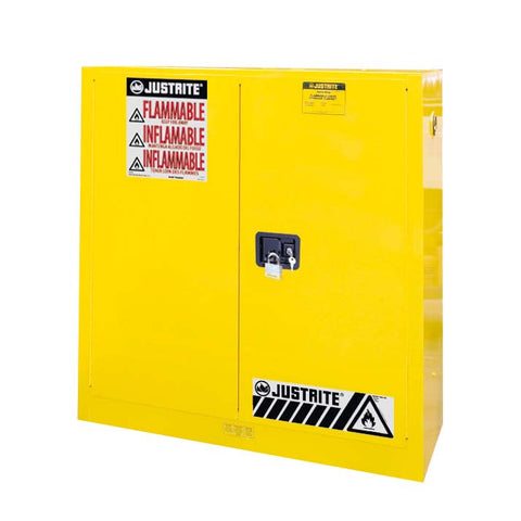 FM Approved Flammable Liquids Cabinet 1092mm L x 457mm W x 1118mm H - 8930001