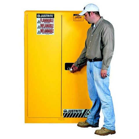 FM Approved Flammable Liquids Cabinet 1092mm L x 457mm W x 1651mm H - 8945001
