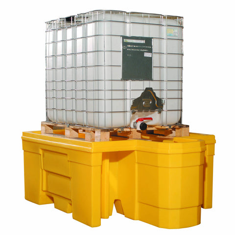 IBC Spill Pallet with built-in dispensing area - BB1D