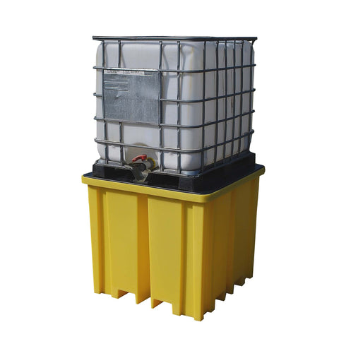 4 Way Entry IBC Spill Pallet for 1 x 1000ltr IBC - BB1FW