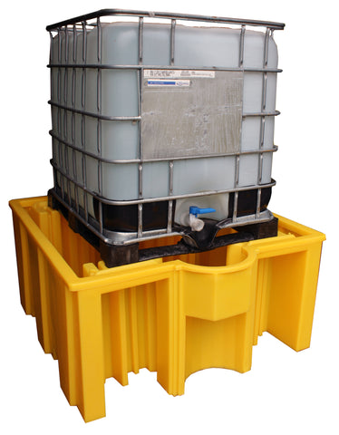 IBC Spill Pallet for 1 x 1000ltr IBC no grid deck - BB3