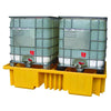 IBC Spill Pallet for 2 x 1000ltr IBCs no grid deck - BB4