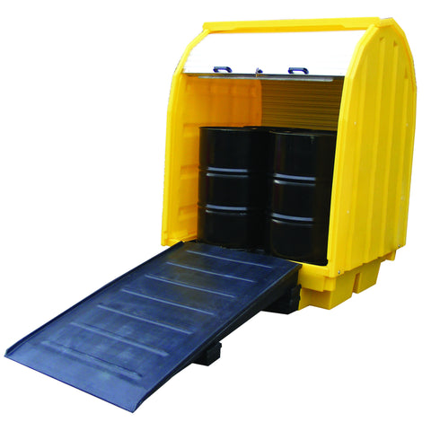 Drum Spill Pallet Ramp for use with BP2HC, BP4HC & BP4 - BFR5