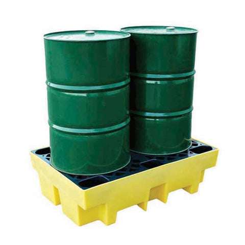 Drum Spill Pallet for 2 x 205ltr drums - BP2