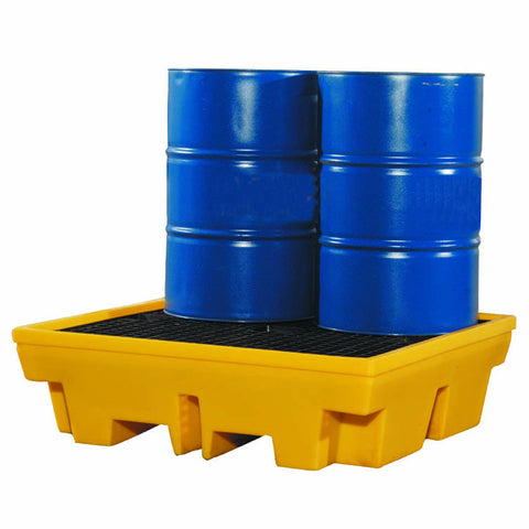 Drum Spill Pallet for 4 x 205ltr drums - BP4