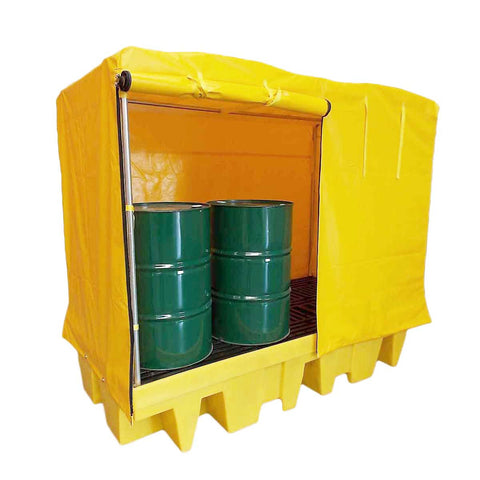 Drum Spill Pallet for 8 x 205ltr drums covered - BP8C