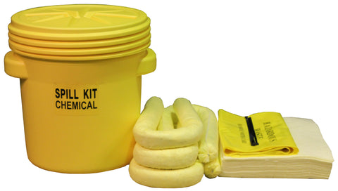"Chemical Spill Kit UN ""X"" rated overpack - 60ltr absorbency - C60UNSK"