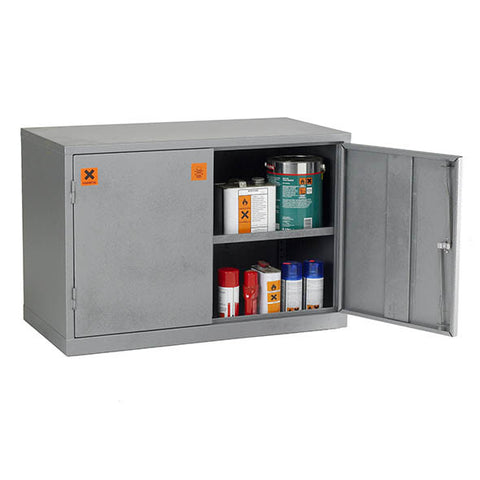 UK Specification Hazardous Substance Cabinet 915mm L x 457mm W x 609mm H - COSHH24/36