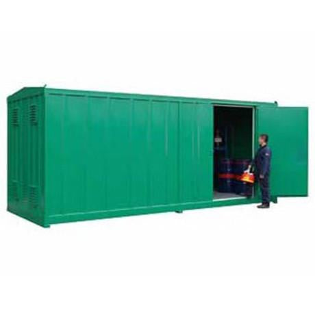 1 Hour Fire Rated Store 108 containers + floor space - CS6FR