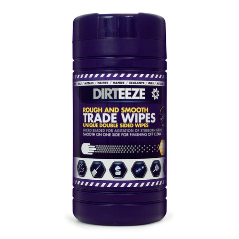 80 DIRTEEZE Trade Wipes in a tub (8 tubs per case) - DGPCL80