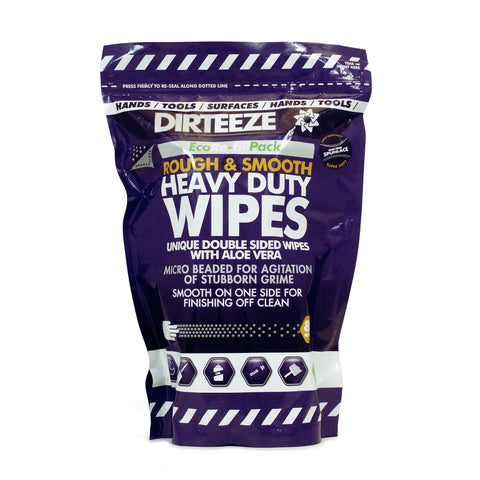 80 DIRTEEZE Trade Wipes in a refill pouch (12 pouches per case) - DGPR80