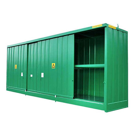 Bunded Store for 48 Drums or 12 IBC - DPU48-12