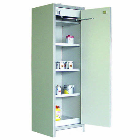 90 Minute EN Fire Rated Free Standing Cabinet 600mm L x 595mm W x 1960mm H - EN91-196-060