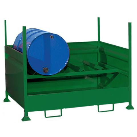 Steel Spill Pallet 2 x 205ltr drums - HD2