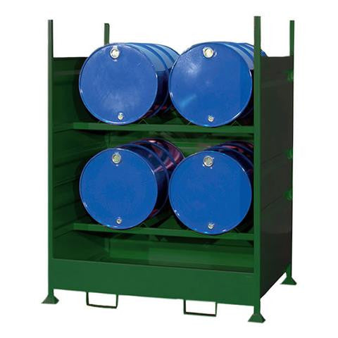 Steel Spill Pallet 4 x 205ltr drum - HD4