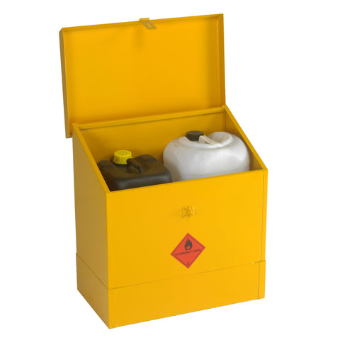 UK Specification Flammable Liquid Bin 609mm L x 457mm W x 660mm H - HSB26/24