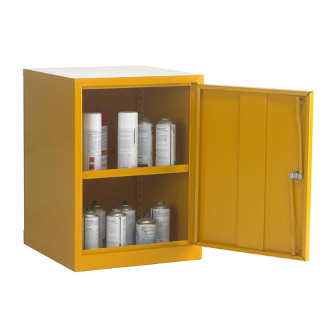 UK Specification Flammable Substance Cabinet 457mm L x 457mm W x 609mm H - HSC24/18