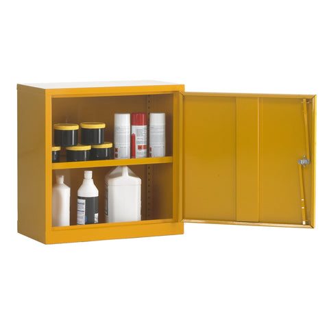 UK Specification Flammable Substance Cabinet 609mm L x 305mm W x 609mm H - HSC24/24
