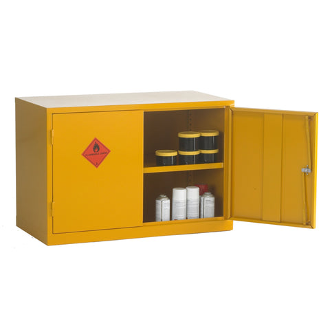 UK Specification Flammable Substance Cabinet 915mm L x 457mm W x 609mm H - HSC24/36
