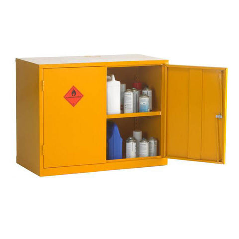 UK Specification Flammable Substance Cabinet 915mm L x 457mm W x 711mm H - HSC28/36