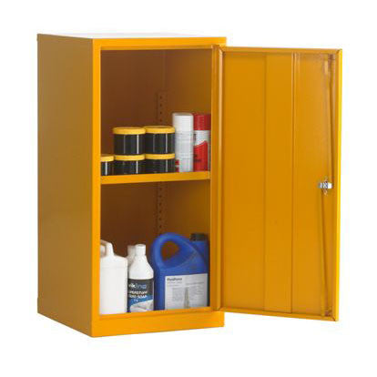 UK Specification Flammable Substance Cabinet 457mm L x 457mm W x 915mm H - HSC36/18