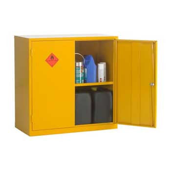 UK Specification Flammable Substance Cabinet 915mm L x 457mm W x 915mm H - HSC36/36