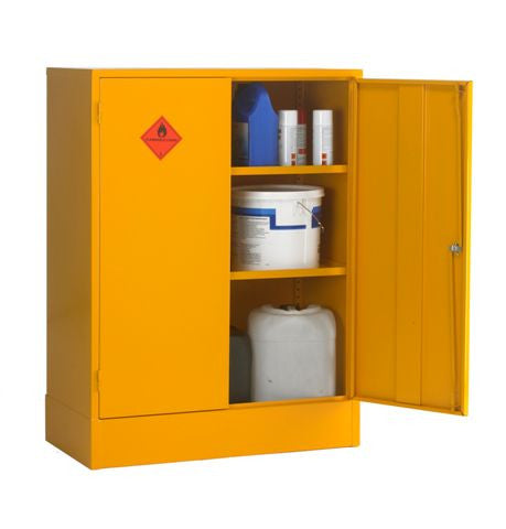 UK Specification Flammable Substance Cabinet 915mm L x 457mm W x 1219mm H - HSC48/36