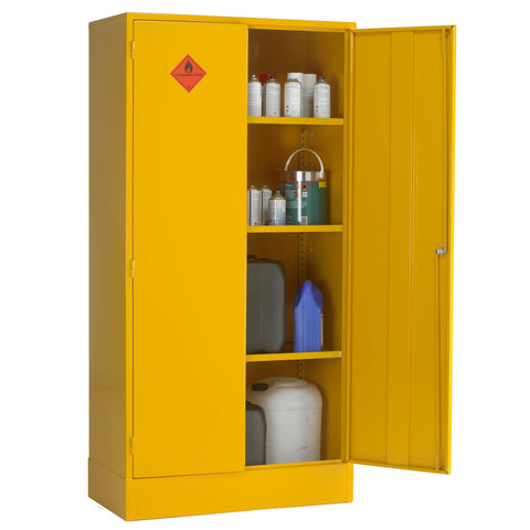 UK Specification Flammable Substance Cabinet 915mm L x 457mm W x 1829mm H - HSC72/36