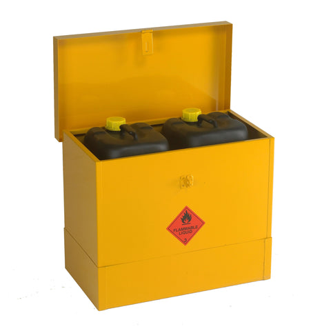 UK Specification Flammable Liquid Bin 508mm L x 330mm W x 609mm H - HSFB20/24