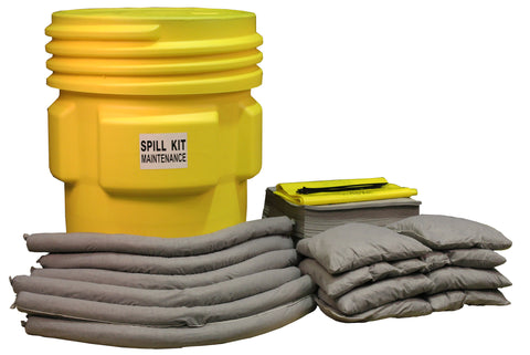 "Maintenance Spill Kit UN ""X"" rated overpack - 250ltr absorbency - M250UNSK"