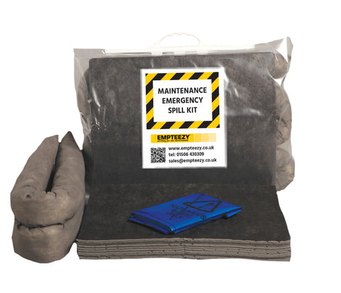 Maintenance Spill Kit Clip top bag with carry handle - 30ltr absorbency- M30SK