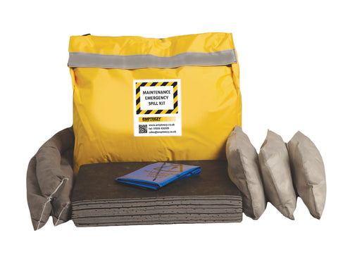 Maintenance Spill Kit Vinyl bag with shoulder strap - 50ltr absorbency - M50SK