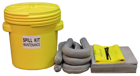 "Maintenance Spill Kit UN ""X"" rated overpack - 60ltr absorbency - M60UNSK"