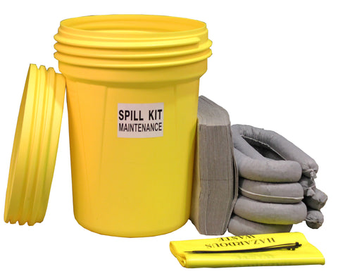 "Maintenance Spill Kit UN ""X"" rated overpack - 90ltr absorbency - M90UNSK"