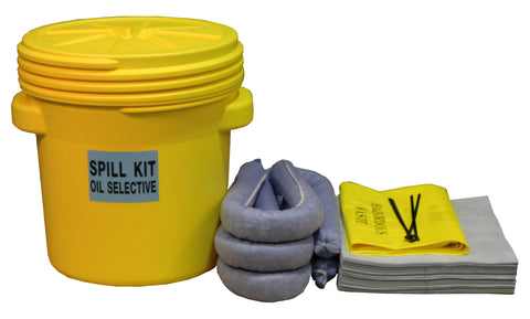 "Oil Selective Spill Kit UN ""X"" rated overpack - 60ltr absorbency - OS60UNSK"