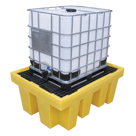 IBC Spill Pallet for 1 x 1000ltr IBC with removable deck - BB1