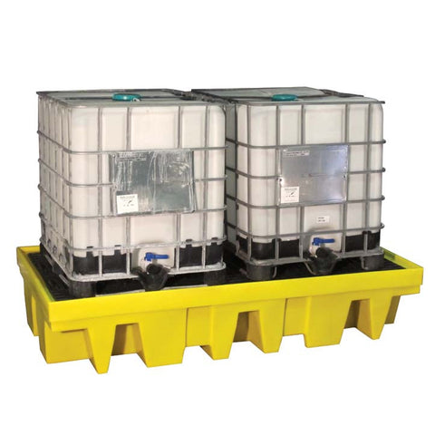 IBC Spill Pallet for 2 x 1000ltr IBC - BB2