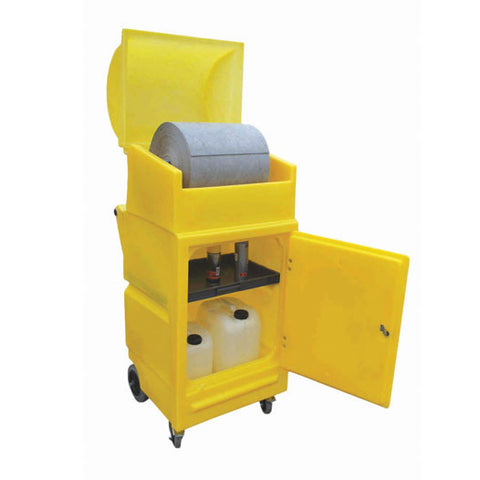 Cart with Roll Holder maximum roll size 430mmØ x 500mm - PMCS4