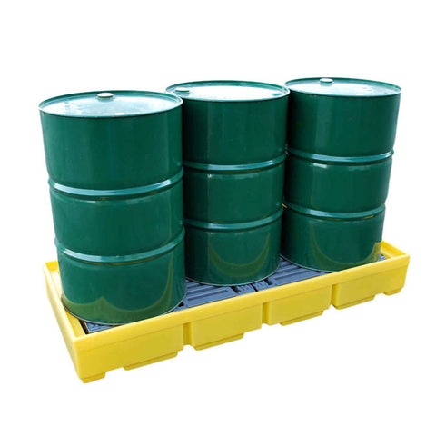 Drum Spill Pallet for 3 x 205ltr drums - BP3