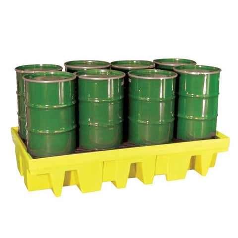 Drum Spill Pallet for 8 x 205ltr drums - BP8