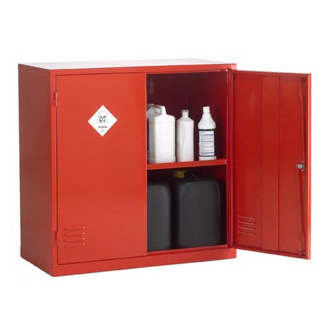 UK Specification Pesticides or Agrochemical Cabinet 915mm L x 457mm W x 711mm H - PAC28/36