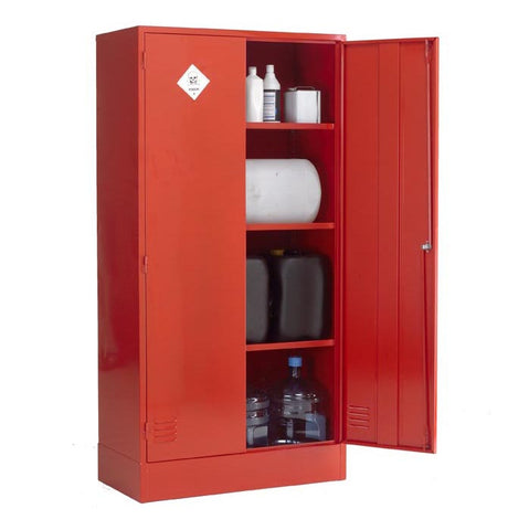 UK Specification Pesticides or Agrochemical Cabinet 915mm L x 457mm W x 1219mm H - PAC48/36