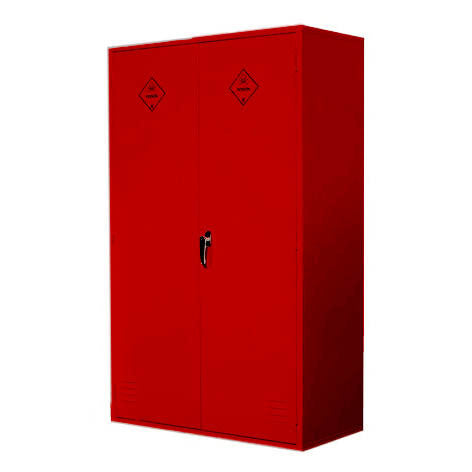 UK Specification Pesticides or Agrochemical Cabinet 915mm L x 457mm W x 1524mm H - PAC60/36