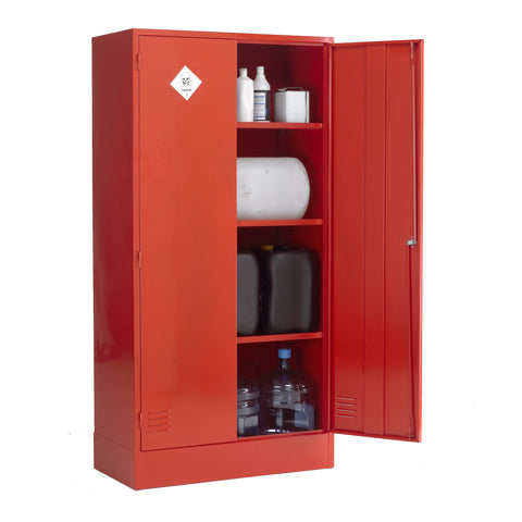 UK Specification Pesticides or Agrochemical Cabinet 915mm L x 457mm W x 1829mm H - PAC72/36
