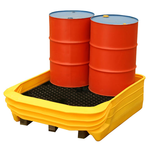 Pallet Converter for 4 x 205ltr drums - PALCON4