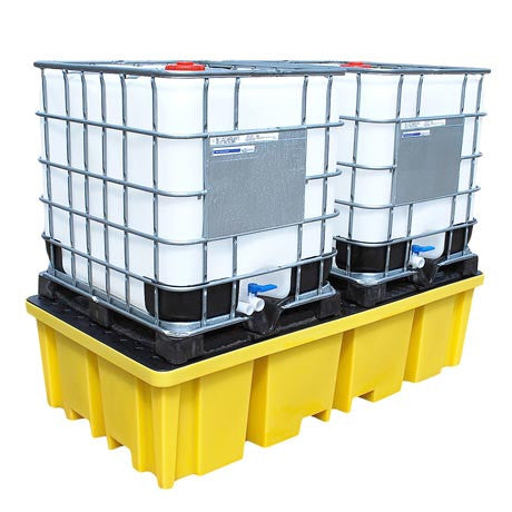 IBC Spill Pallet for 2 x IBC - BB2FW